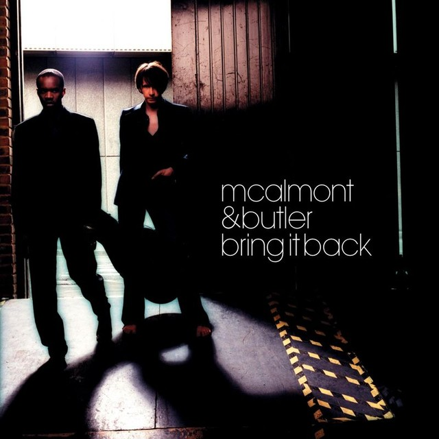 Album cover for Bring It Back by McAlmont & Butler