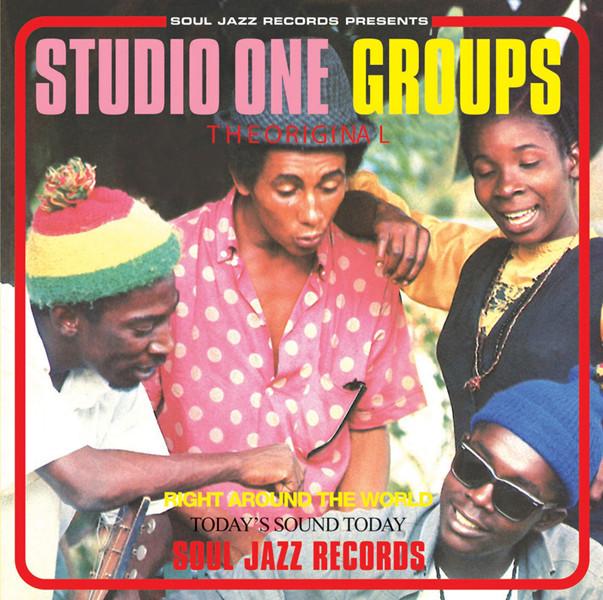 Various Artists Studio One Groups album cover