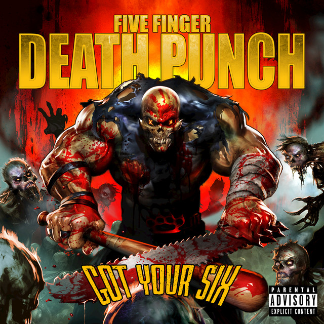 Five Finger Death Punch Got Your Six (Deluxe) album cover