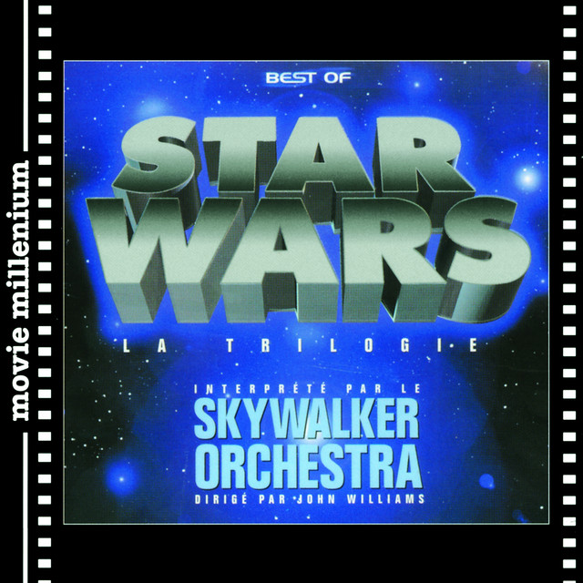 John Williams conducts The Star Wars Trilogy Albumcover