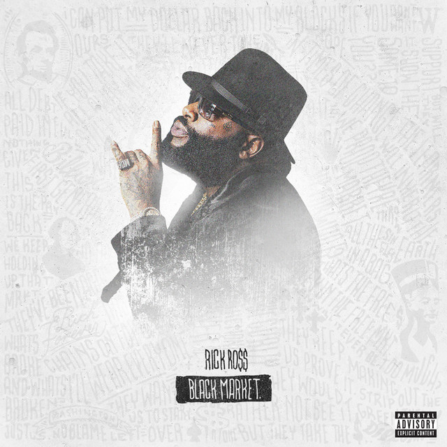 Album cover for Black Market (Deluxe) by Rick Ross