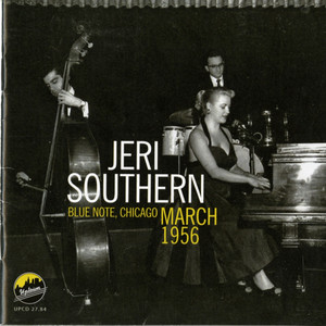 Jeri Southern Blue Note, Chicago, March 1956 album