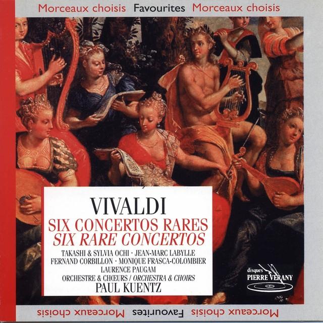 Vivaldi : Six concertos rares Albumcover