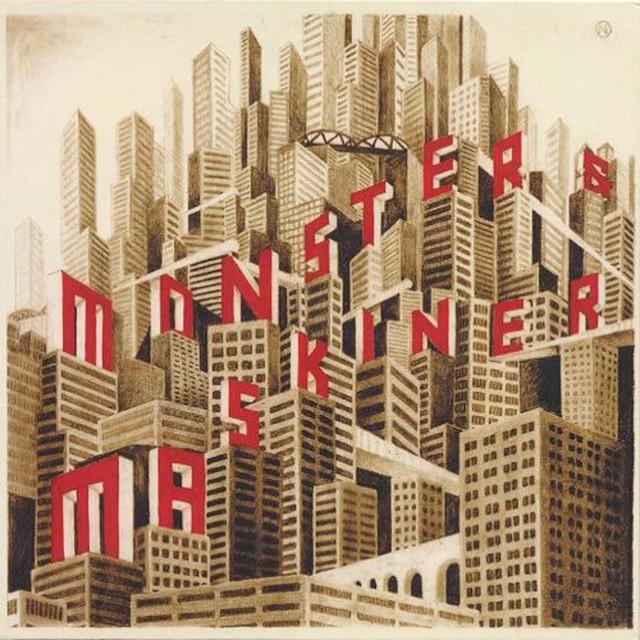Skivomslag för Monster & Maskiner: Never Die!