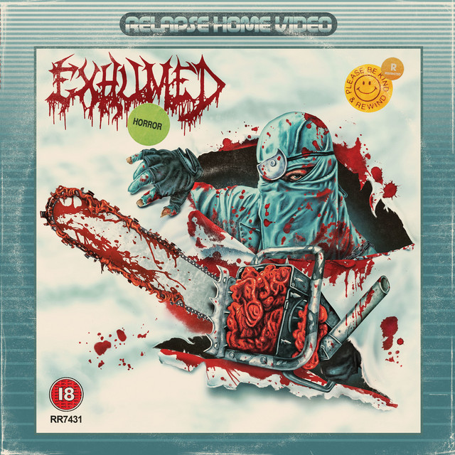 Album cover for Horror by Exhumed