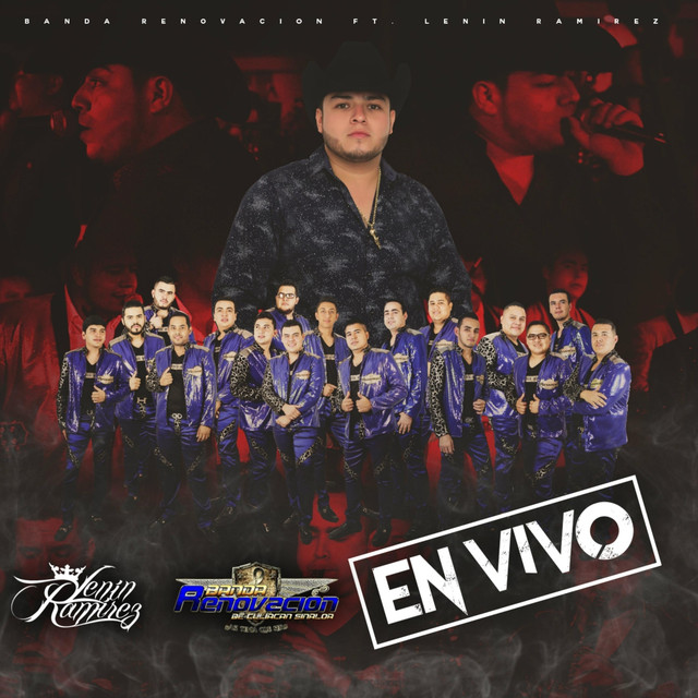 Album cover for En Vivo by Lenin Ramírez, Banda Renovacion