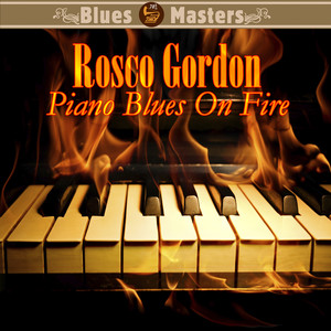 Piano Blues On Fire album