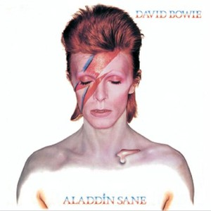 Aladdin Sane - 30th Anniversary Remaster Albumcover