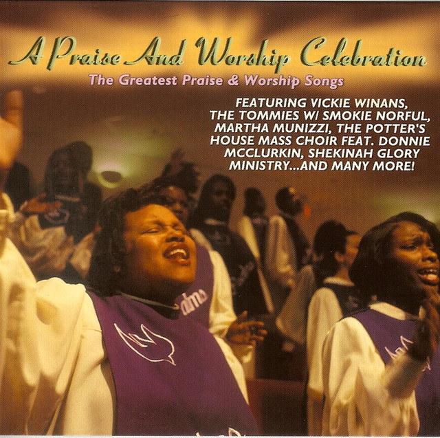 Various Artists A Praise And Worship Celebration album cover