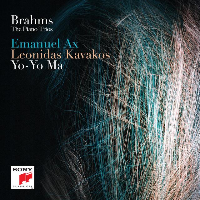 Album cover for Brahms: The Piano Trios by Johannes Brahms, Yo-Yo Ma, Emanuel Ax, Leonidas Kavakos