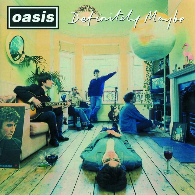 Skivomslag för Oasis: Definitely Maybe