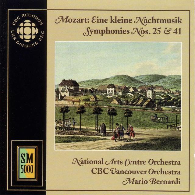 Mozart: Kleine Nachtmusik (Eine) / Symphonies Nos. 25 and 41 Albumcover
