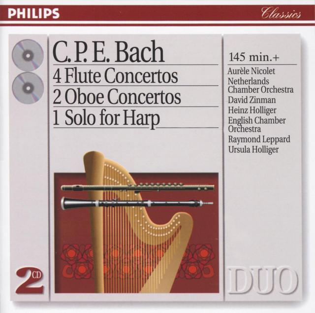 Bach, C.P.E.: 4 Flute Concertos; 2 Oboe Concertos, etc. (2 CDs)