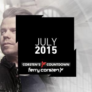 Ferry Corsten presents Corsten's Countdown July 2015 Albumcover