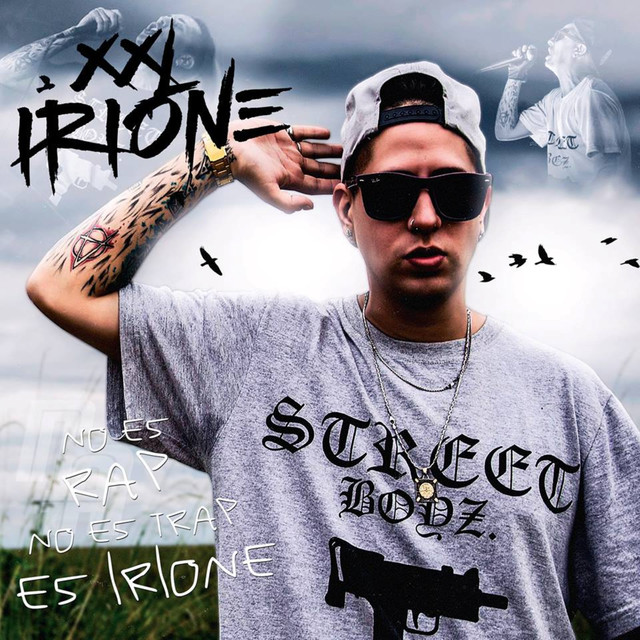 Album cover for Antifama by XXL Irione
