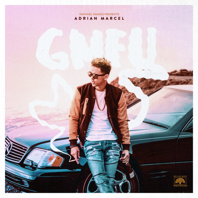 Album cover for GMFU by Adrian Marcel