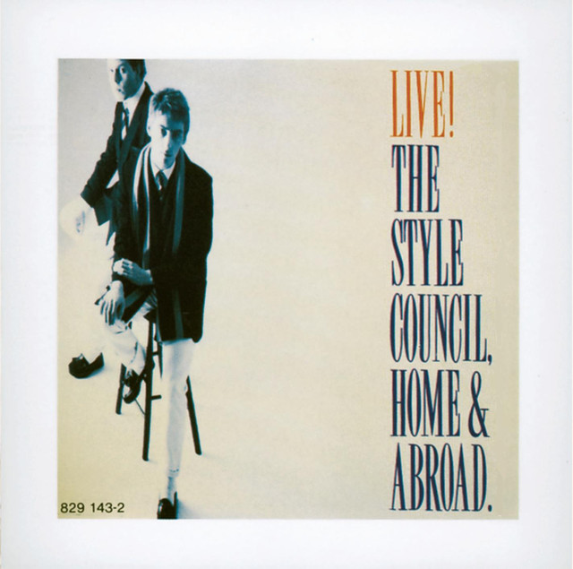 Artwork for Walls Come Tumbling Down - Home & Abroad Live Version by The Style Council