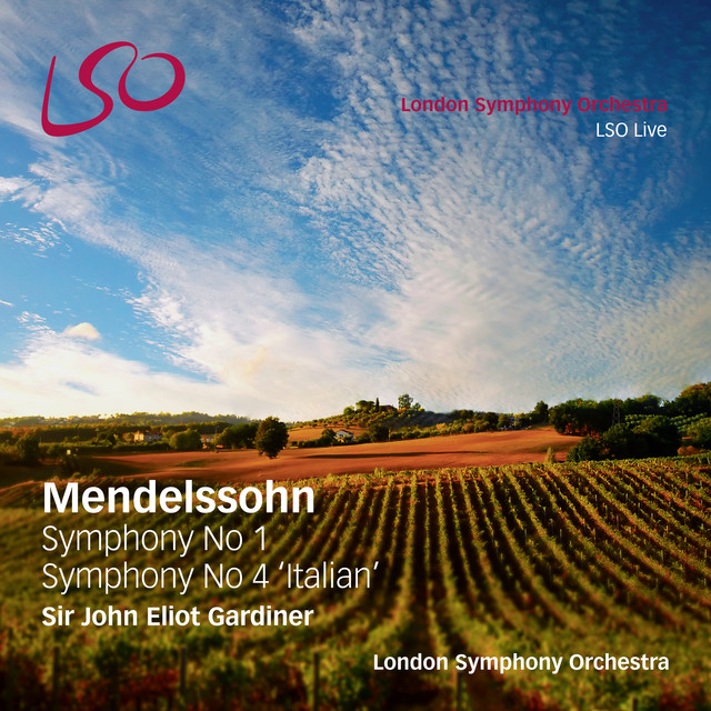 Mendelssohn: Symphony No. 1, Symphony No. 4 'Italian'