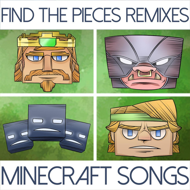Find the Pieces Remixes (Minecraft Songs) Albumcover
