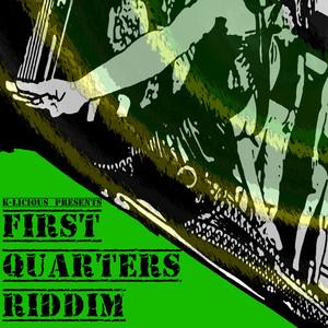 First Quarters Riddim Albumcover