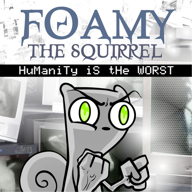 Foamy the squirrel video games