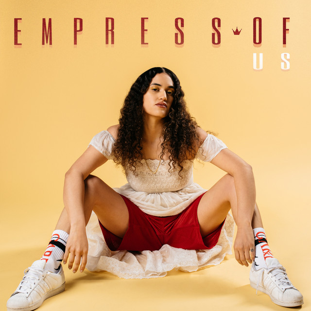 Album cover for Us by Empress Of