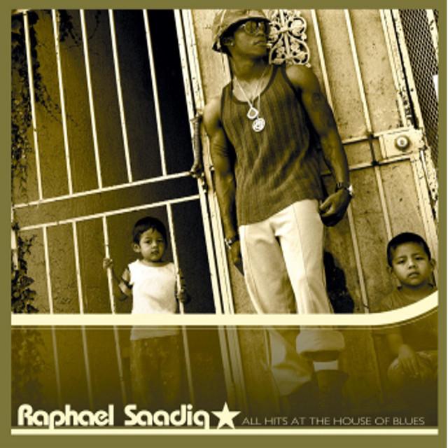 Raphael Saadiq All Hits at the House of Blues album cover