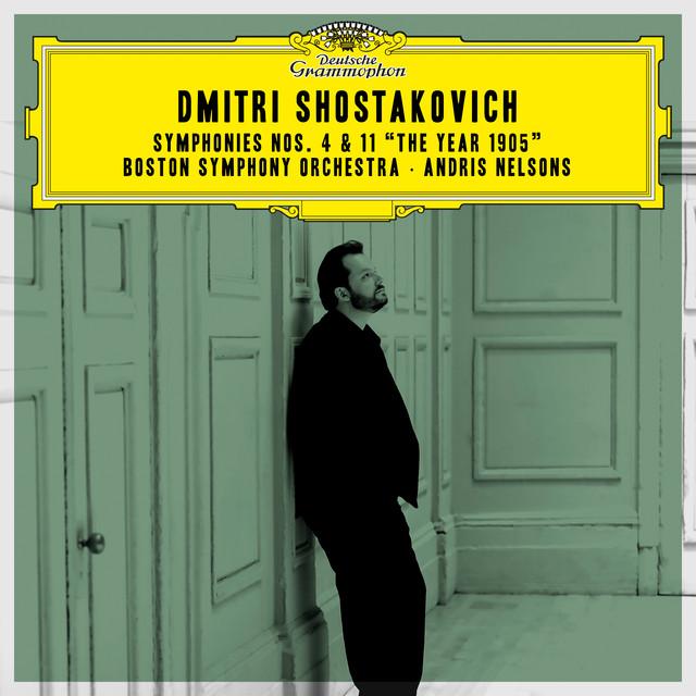 Album cover for Shostakovich: Symphonies Nos. 4 & 11