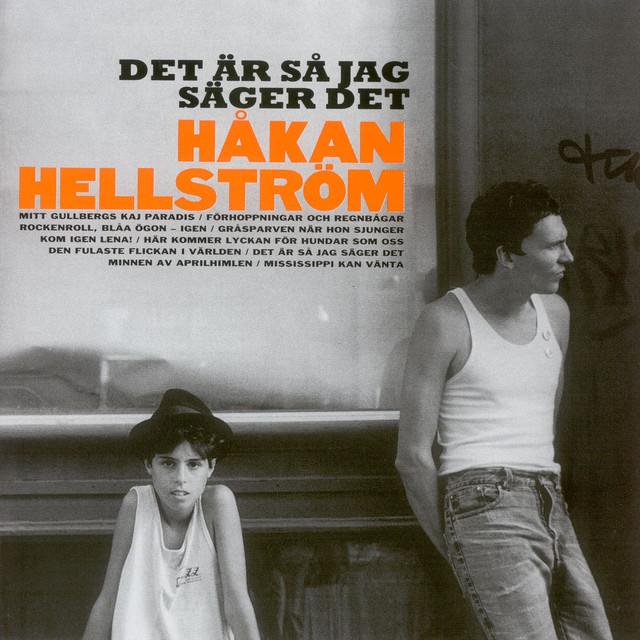 Skivomslag för Håkan Hellström: Det Är Så Jag Säger Det