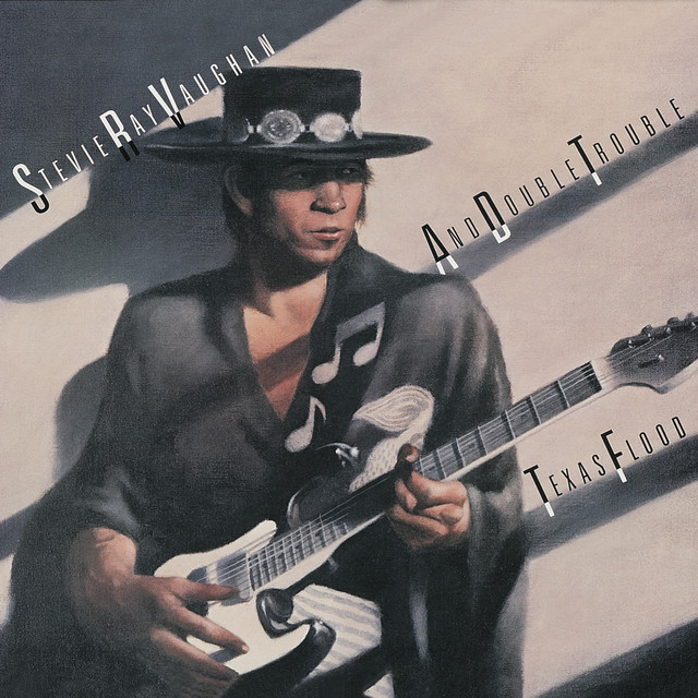 Stevie Ray Vaughan and Double Trouble Texas Flood album cover