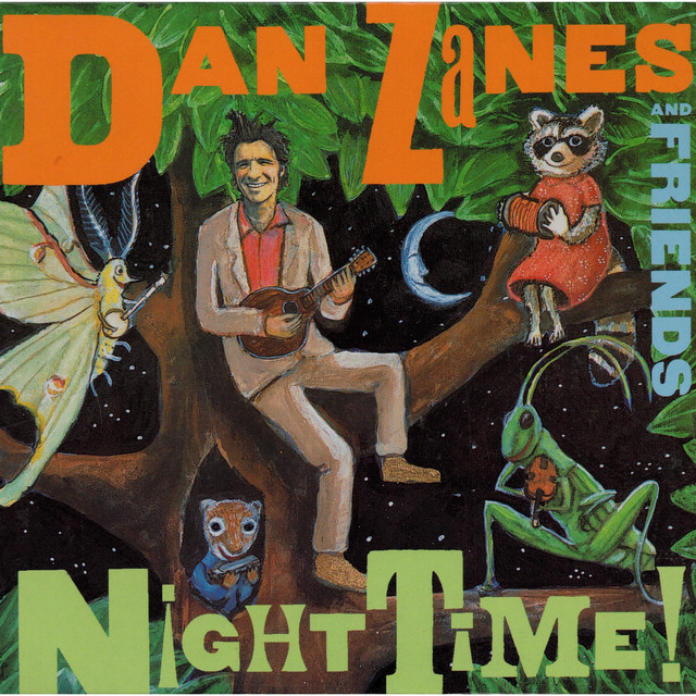 Dan Zanes, Friends Night Time! album cover
