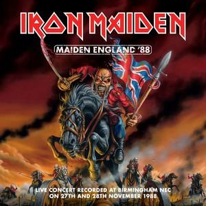 Maiden England '88 Albumcover