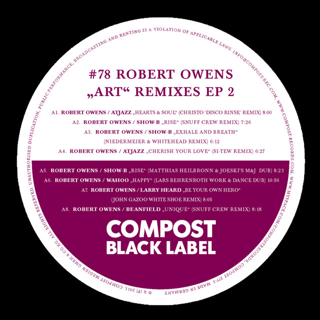 Robert Owens tickets and 2018 tour dates