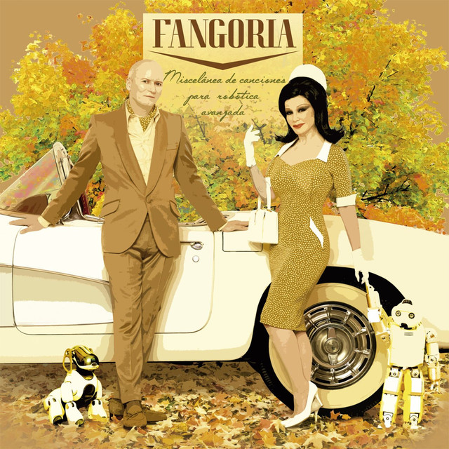 Album cover for Miscelánea de canciones para robótica avanzada by Fangoria