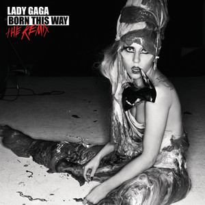 Born This Way - The Remix Albumcover