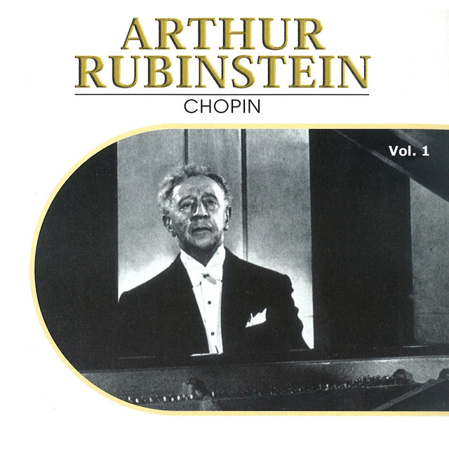 Arthur Rubinstein, Vol. 1 (1932, 1937) Albumcover