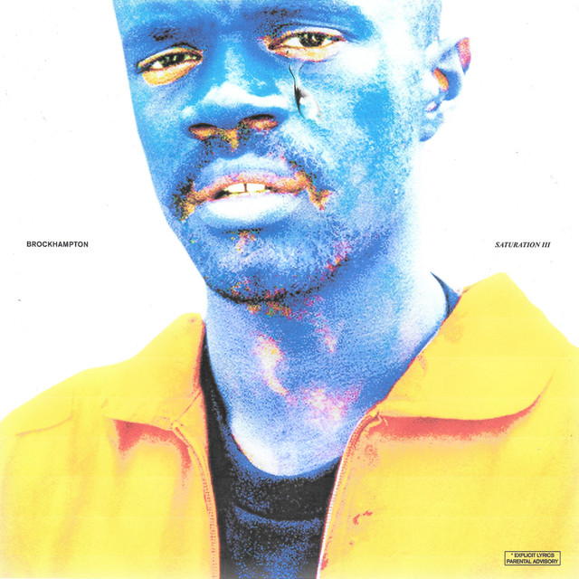 Album cover for SATURATION III by BROCKHAMPTON