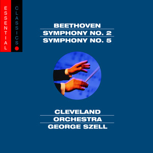 Beethoven: Symphonies Nos. 2 & 5 Albumcover