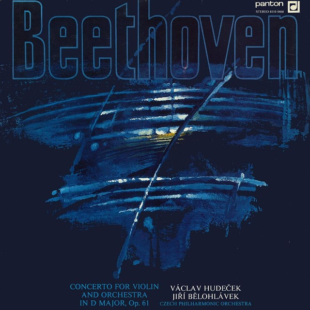 Beethoven: Concerto for Violin and Orchestra Albumcover