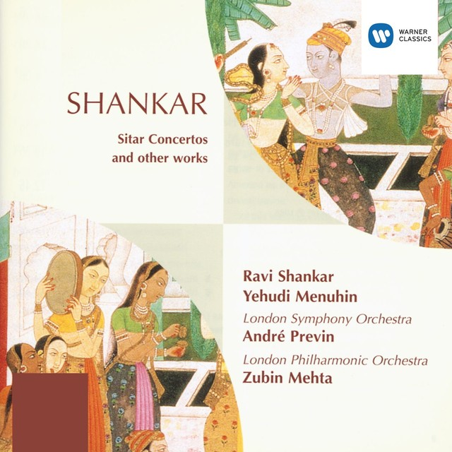 Shankar: Sitar Concertos/Ragas Albumcover