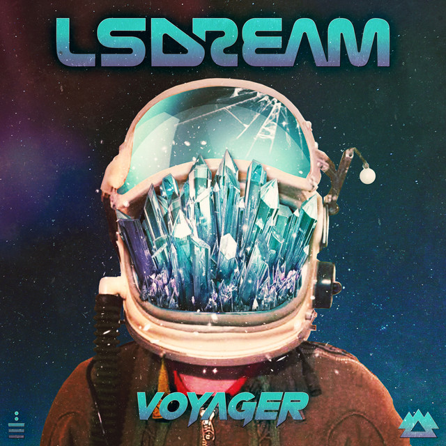 Album cover for VOYAGER by LSDREAM