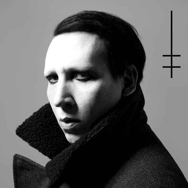 Marilyn Manson Heaven Upside Down album cover