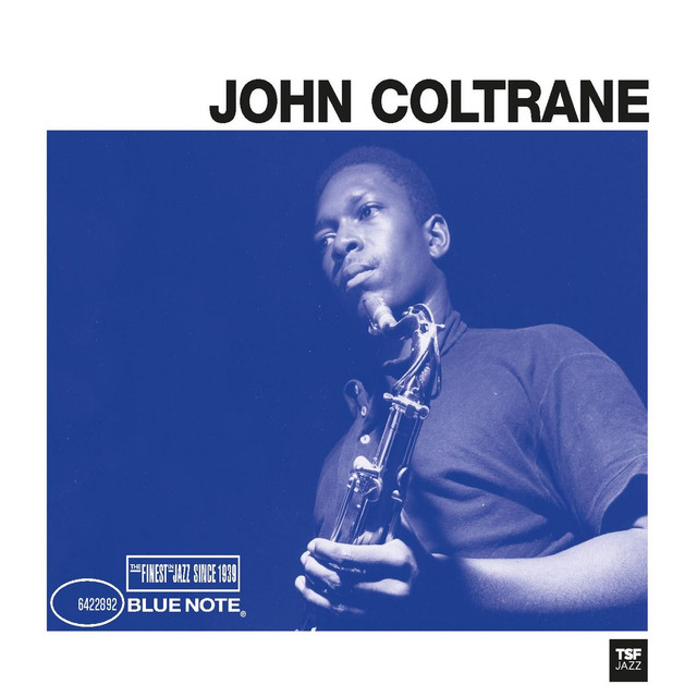 John Coltrane Blue Note TSF album cover