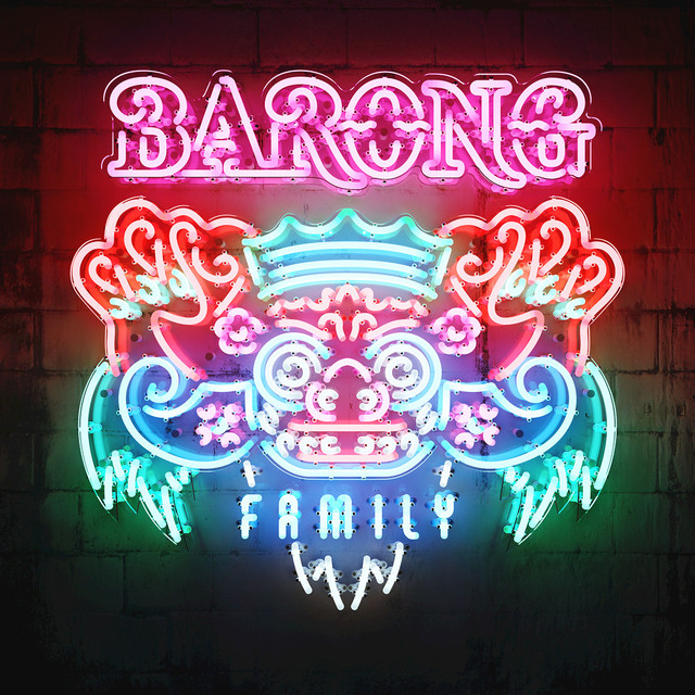 Album cover for Yellow Claw Presents: The Barong Family Album by Various Artists