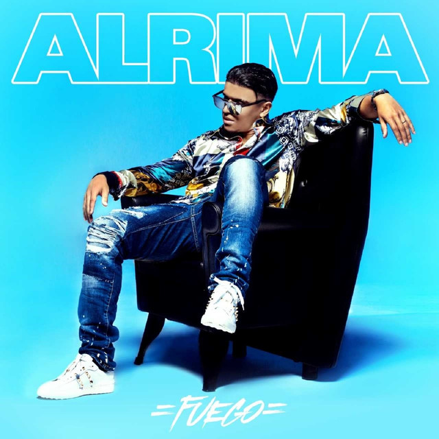 Album cover for Fuego by Alrima
