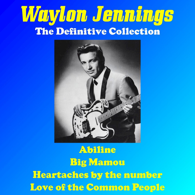 Waylon Jennings: The Definitive Collection (Rerecorded Version) Albumcover