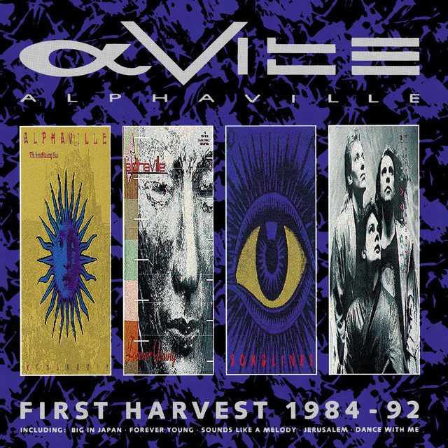 Alphaville First Harvest 1984-1992 album cover