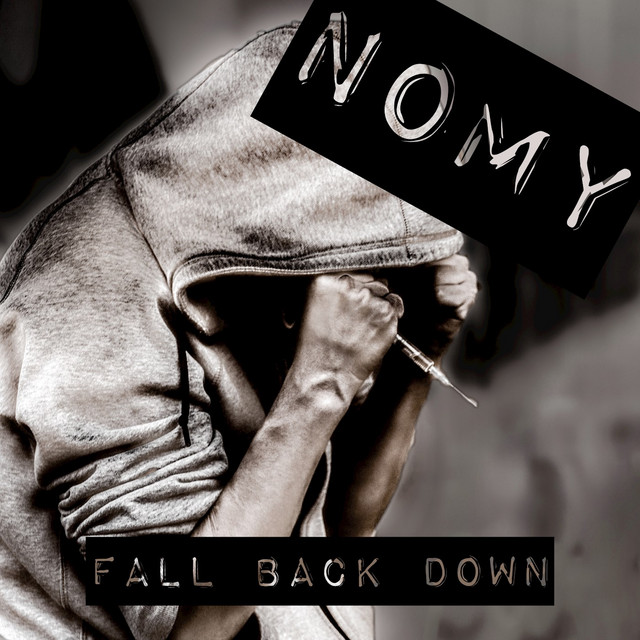 Album cover for Fall Back Down by Nomy