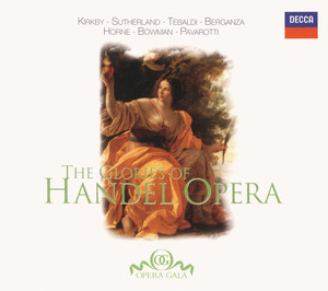 The Glories of Handel Opera album