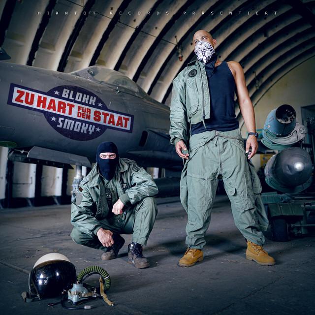 Album cover for Zu hart für den Staat by Blokkmonsta, Smoky
